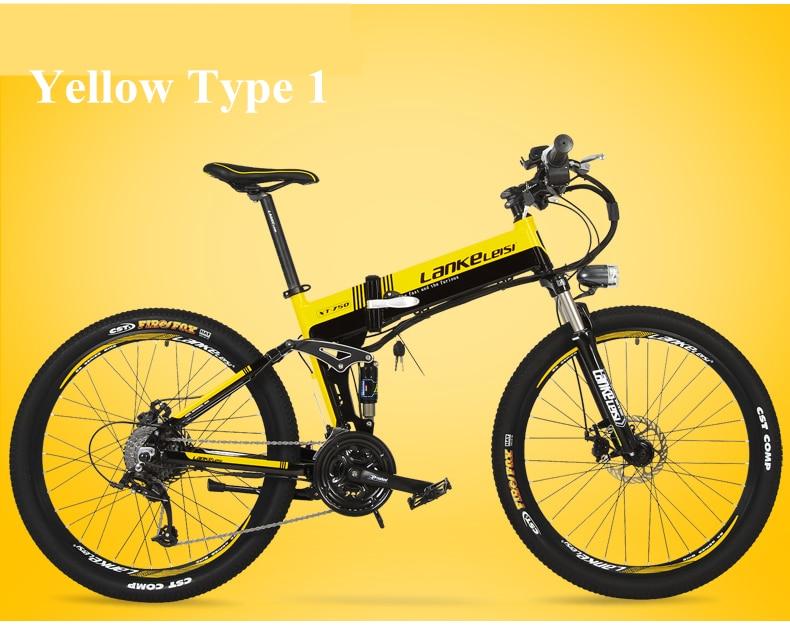 "HTB1QM6Oc0qUQKJjSZFIq6AOkFXa0 - XT750D 27 Velocity 500W Tremendous Energy Excessive High quality 26"" Foldable Electrical Bicycle, 36V/48V Hidden Lithium Battery Mountain Bike MTB"