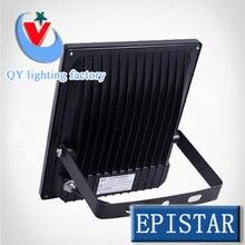 50pcs/lot DHL UPS FEDEX 10W 20w 30w 50w  RGBspotlight 85~265V LED ourdoor lamp black shell ceiling light