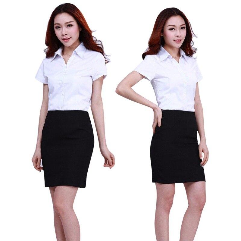 HTB1QM7ZJXXXXXbXXpXXq6xXFXXXO - FREE SHIPPING White Blouse Shirt Women Work Wear Long Sleeve JKP092