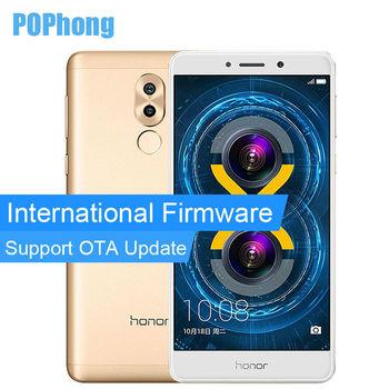 International Firmware Huawei Honor 6X 4GB RAM 64GB ROM Kirin 655 Octa Core Mobile Phone 5.5'' Dual SIM Fingerprint Android 6.0