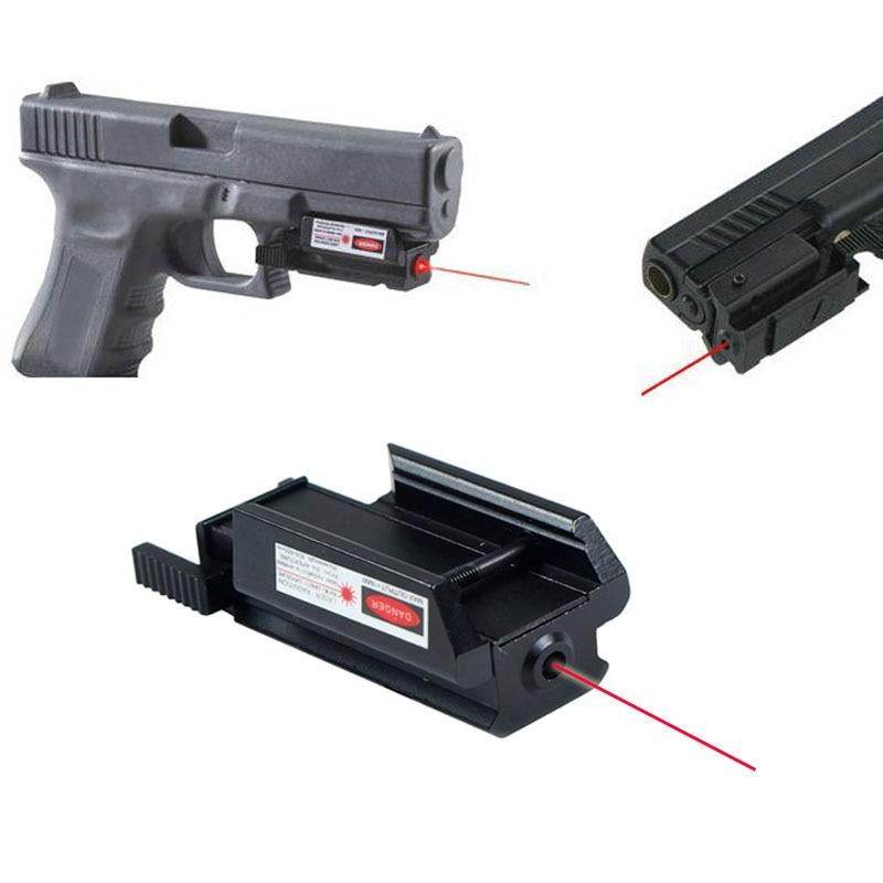 Tactical Gun Rifle Red Dot Mira A Laser Para Glock 17 19 20 21 22 23 30 31 32 W/weaver/picatinny Rail 20mm