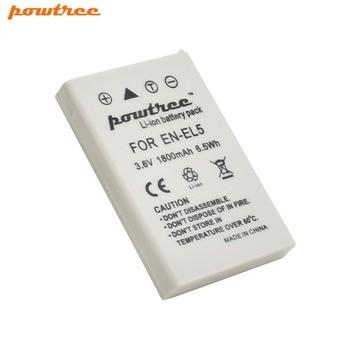 1pcs 3.6v 1800mAh EN-EL5 EN EL5 ENEL5 batteries Li-ion Camera Battery For Nikon Coolpix P90 P100 P500 P510 P520