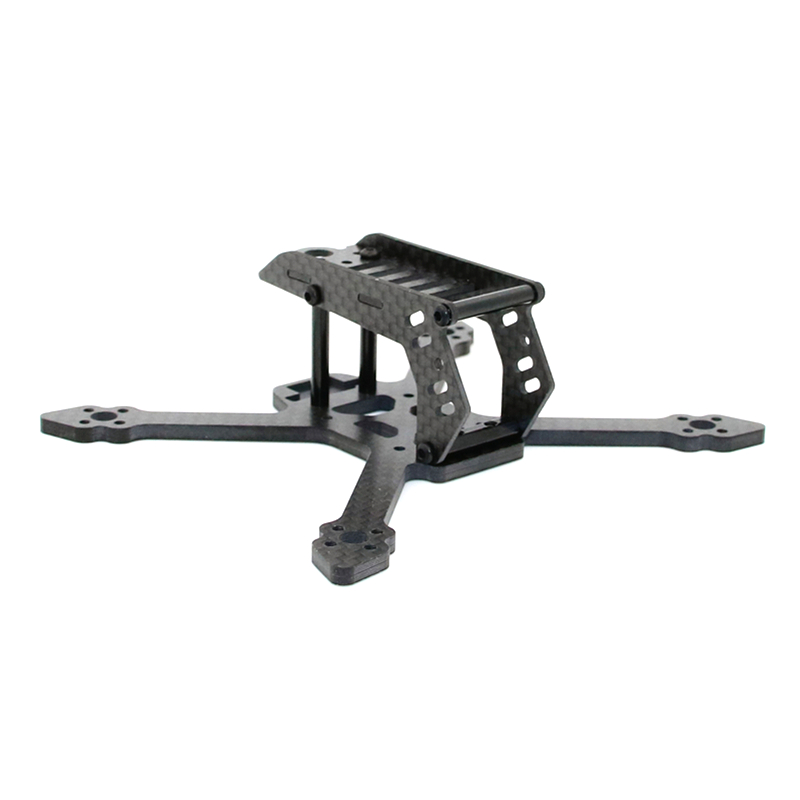SPC Maker 100SP 100mm 110VT 110mm X Type 3mm Arm Carbon Fiber Frame Kit For RC Toy Quadcopter RunCam Micro Swift Camera ESC spc for excel