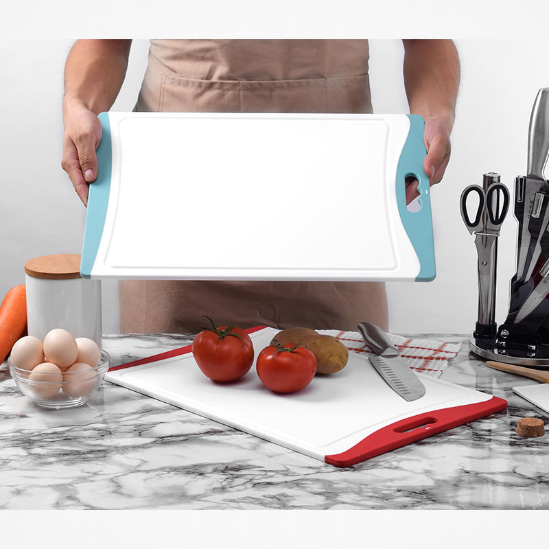Creative Kitchen Tools Plastic Cutting Board Food Slice Cut Portable Camping Outdoor Chopping Board Cooking Mat Tool