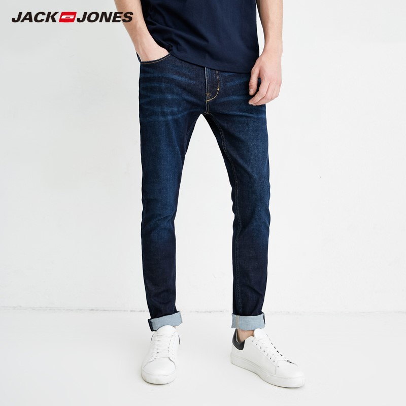JackJones Spring Men's Casual Thin Summer Denim Pants Classic   Jeans   Cowboys Young Man J|218132558