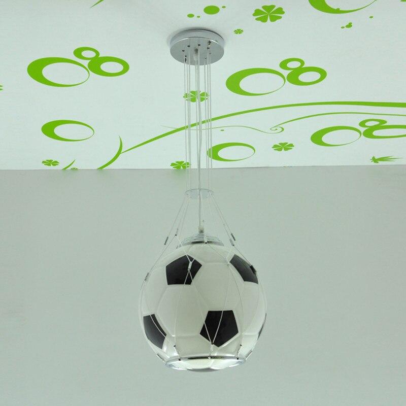 Livraison gratuite basket lampe suspension chambre enfant basket lumière chambre verre suspension cadeau enfant cadeau garçon - 4