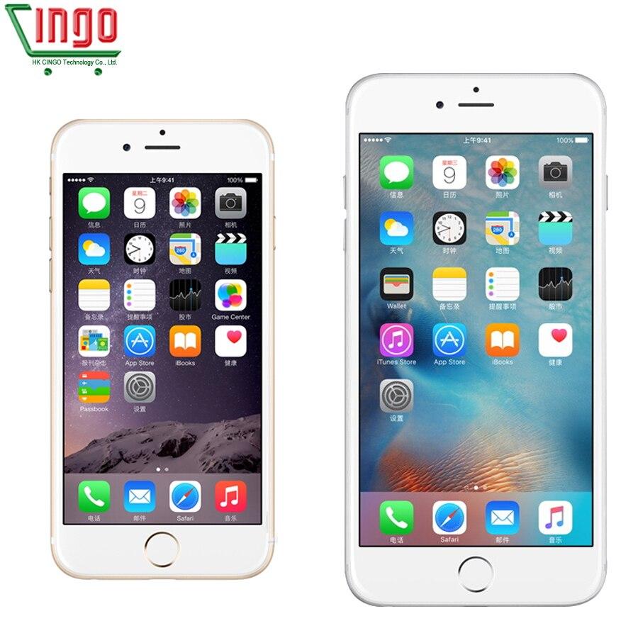 Déverrouillé Apple iPhone 6 1 gb RAM 16/64/128 gb ROM IOS Dual Core 8MP/Pixel utilisé 4g LTE Mobile Téléphone