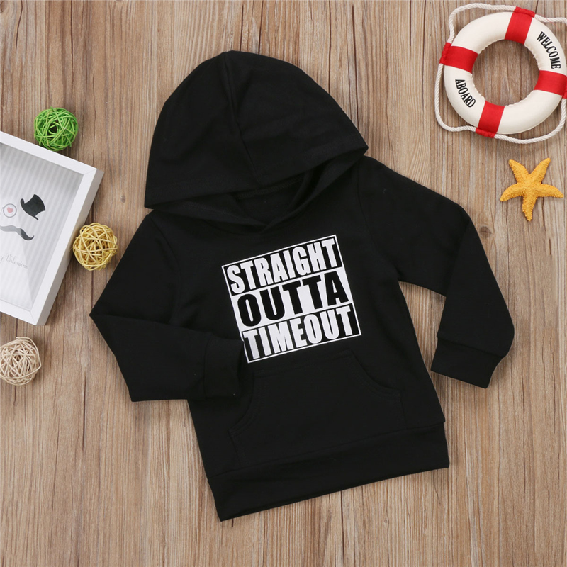 2019 Autumn Winter Kids Hoodies Fashion Toddler Newborn Baby Boy Girl Hoodie Tops Hooded Sweatshirt Outdoor 0-5T(China)