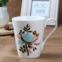 England original malerei secret garden tassen bone china kaffee/Milch/tee becher kreative keramik porzellan becher als geschenk für freund