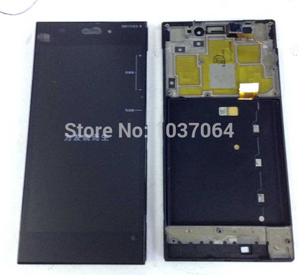 font b LCD b font screen font b display b font Touch digitizer with frame