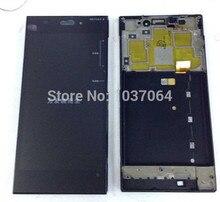 Pantalla lcd display + touch digitalizador con marco para xiaomi m3 mi3 wcdma y tds-cdma envío gratis
