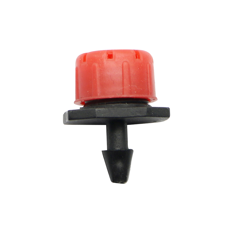 50 Pcs Adjustable Dripper Red Micro Drip Irrigation Watering Anti-clogging Emitter Garden Supplies For 1/4 Inch Hose