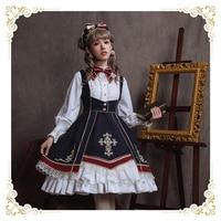 2019 Sale New Original Authentic Spot Balance Payment Sika Shenghui Cross Lolita Skirt Qiu Dong Daily Coat Long sleeved Dress