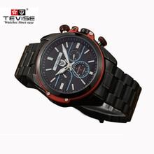 TEVISE Marca Relojes Mecánicos Automáticos de lujo de Los Hombres Reloj Luminoso Reloj Masculino Calendario Reloj Impermeable Relogio masculino reloj