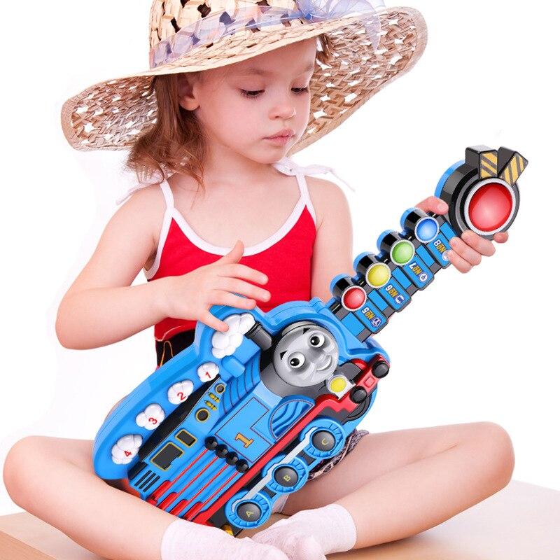 Thomas guitare jouets jouant des Instruments de tambour garçon bébé musique jouets enfants