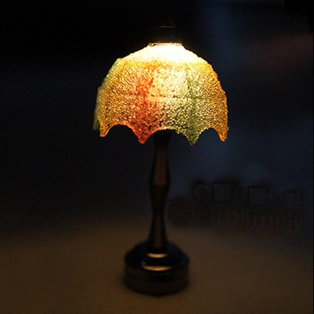 mini 112 miniatuur poppenhuis lampen bureau led verlichting draad gratis verlichting spelen poppenhuis