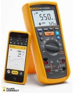 Fluke Multimeter Insulation-Tester New FC with Fc-Connect-Function 2-In-1 F1587 Fast-Arrival