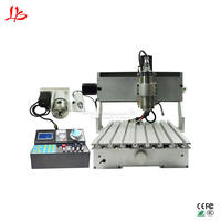 6040 CNC engraver router aluminum cutting milling machine 2200w water spindle with handwheel function