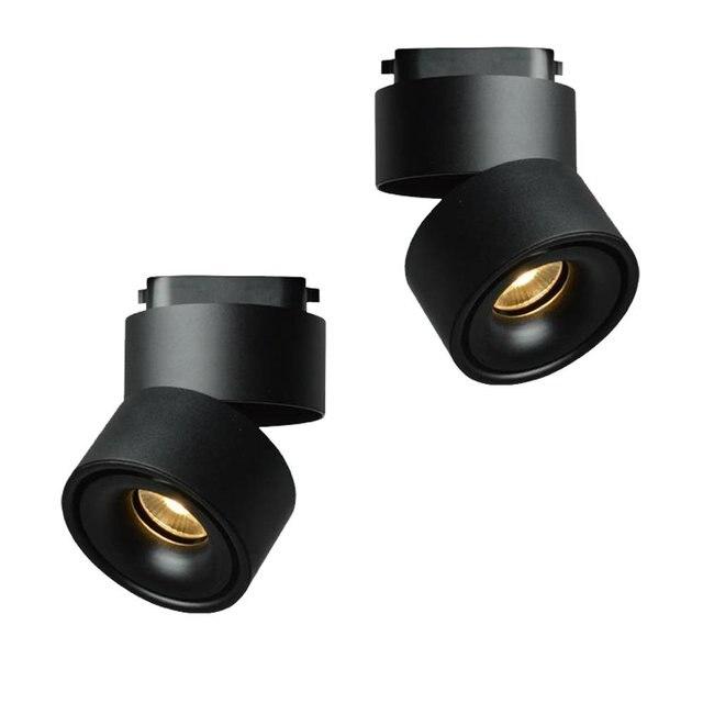 LED luces de pista 10 W 2 hilos 3000 K 120 V luz de Seguimiento de ...
