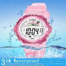 Sports Watches 30M Waterproof Back Light LED Digital