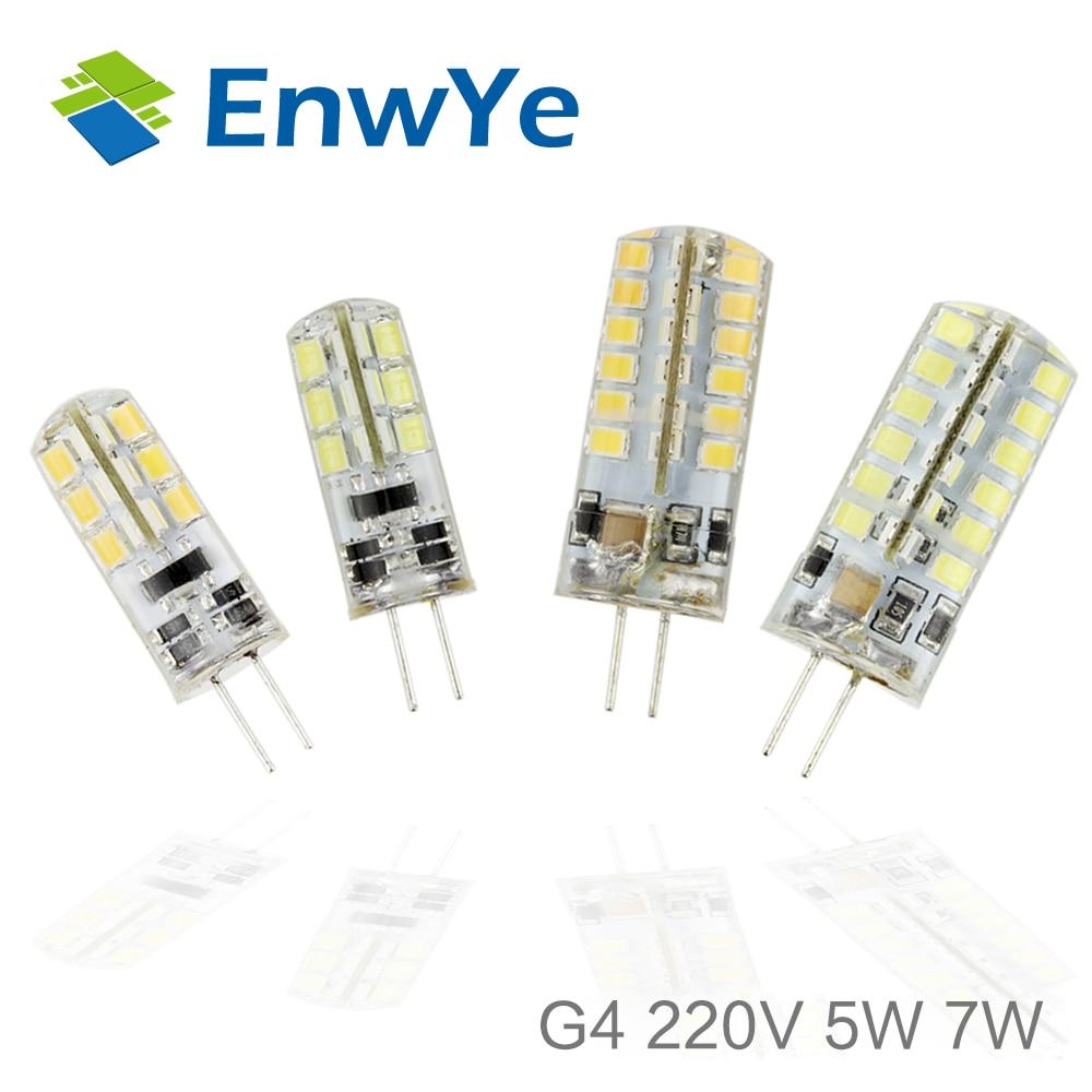 G4 LED 220V 230V 240V 5W 7W Led Lamp LED Bulb 2835SMD 24LED 48LED lamp 360 Beam Angle LED spot light warranty 39e580f v390h1 ls6 trem2 v390hk1 ls6 led light 1pcs 48led 495mm page 5