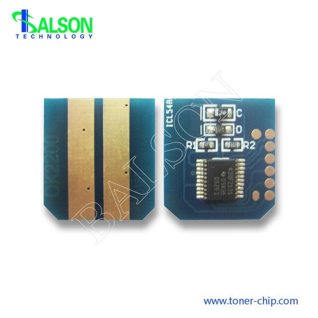 B2200 B2400 Toner cartridge chip For OKI 2200 2400 43640301 2K Compatible Reset Laser Printer High Quality Chip