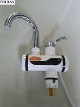 Bdi3000w-3, бесплатная доставка, индикатор instant hot водопроводной воды, tankless Электрический кран, Кухня кран водонагреватель, с ЕС Plu