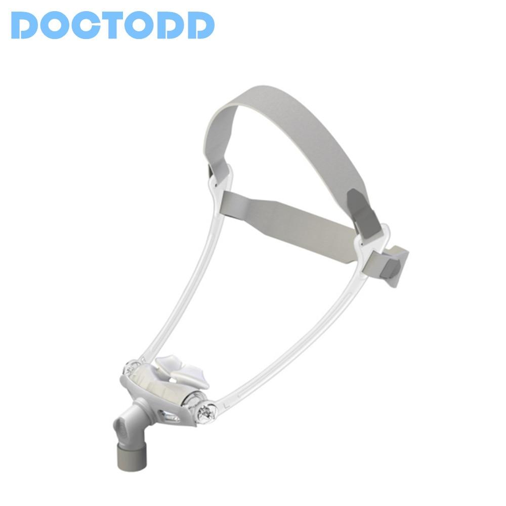 DOCTODD WNP Almofadas Máscara De CPAP Auto CPAP BiPAP Nasal Ventilador 3 Tamanhos Universal Pad Almofada de Cuidados de Saúde do Sono Parar ronco