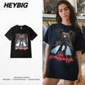 Kanye West bear CUTE print Tee 2017 HEYBIG SS new Short sleeve Tshirts MEN AND WOMEN Asian size Clothing Big yards Leisure Tops