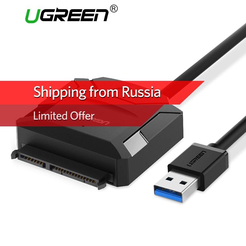 Ugreen SATA ZU USB Adapter für 2,5 3,5 HDD SSD Festplatte USB 3.0 SATA Kabel Converter USB SATA Adapter