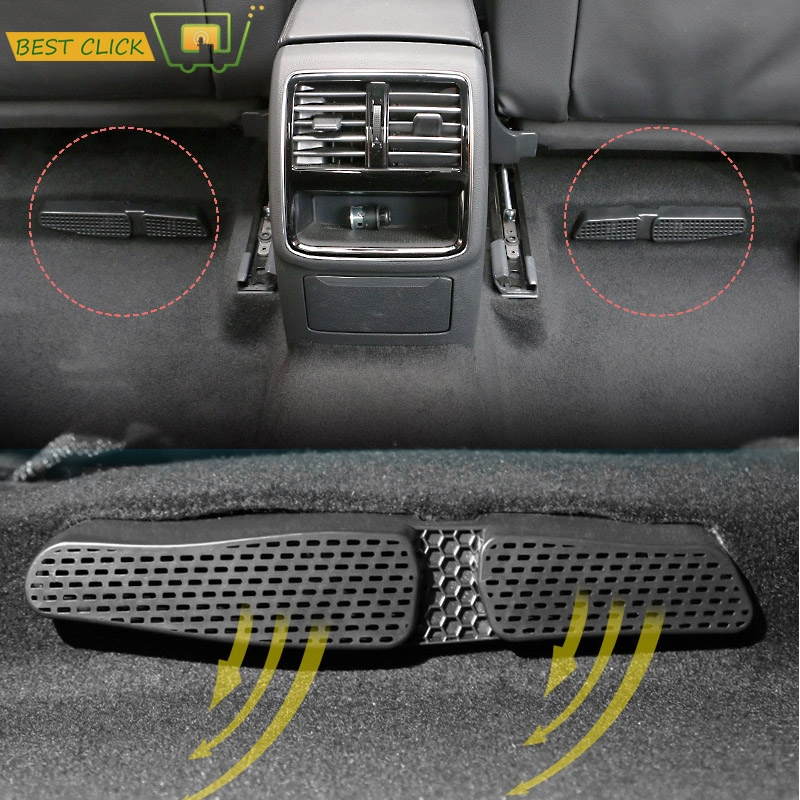 Under Seat Floor Air Flow Vent Cover For Vw Golf 7 Mk7