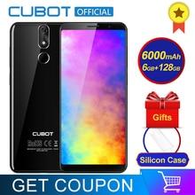 Cubot Güç Android 8.1 Helio P23 Octa Çekirdek 6000 mAh 6 GB RAM 128 GB ROM 5.99 Inç FHD + 6 P lens Smartphone 20.0MP Celular 4G ...