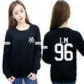 MONSTA X moletom sudadera hoodie kpop I.M motoaki combinación con hombres y mujeres cuello redondo ropa bts kawaii moda