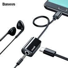 Baseus USB C Audio Cable Adapter Type C to 3.5mm Jack Earpho
