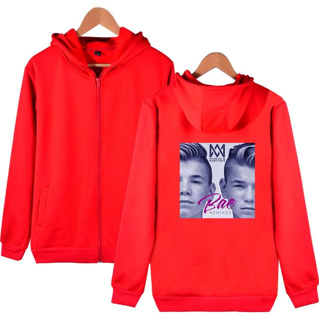 Marcus og Martinus hoodie genser