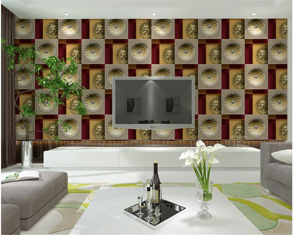 Papel Salon Us 33 67 39 Off Beibehang Simple Fashion Papel De Parede Wallpaper Living Room Clothing Store Beauty Salon Restaurant Ktv Box Barber Wallpaper In