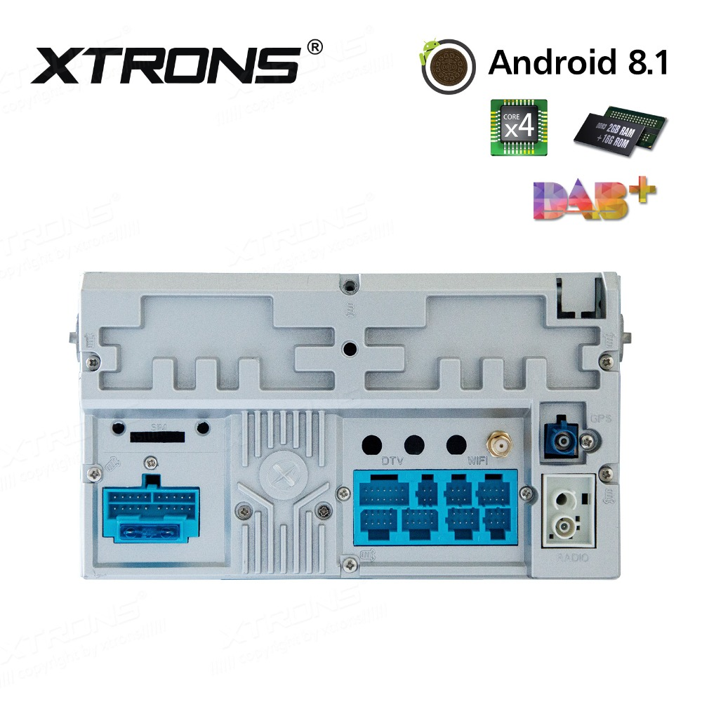 """Top 7"""" Android 8.1 Radio GPS Car DVD Player RCA RDS USB"""