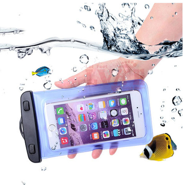 buy online 26bc6 00e93 US $1.89 5% OFF|cunzhi Clear Universal Waterproof Pouch Diving PVC Case For  Huawei Honor 9 Lite Bag 5.7inch-in Phone Pouch from Cellphones & ...