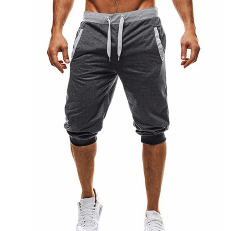 2018 Mens Shorts Casual Bermuda Brand Compression Male Hit Color Design Cargo Shorts Men Linen Fashion Men Short Summer Linen