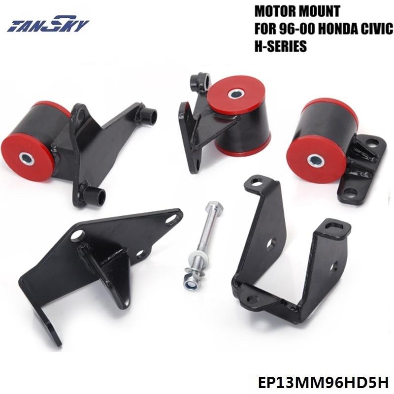 Pour HONDA CIVIC EK H22A H22 H23 H-SERIES jdm 1996-2000 supports d'échange de moteur EPMAN EP13MM96HD5H