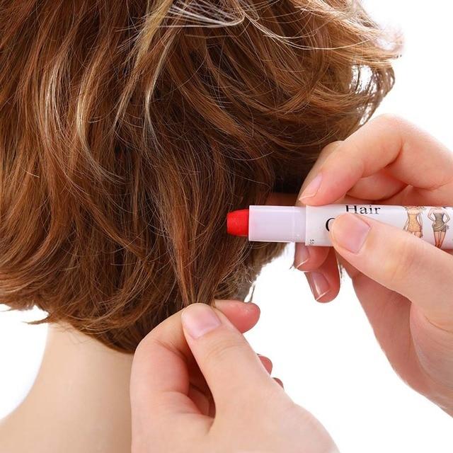 Hair Crayon For Women Girls Color Disposable Easy Highlight Non