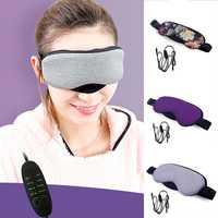 Neue Temperatur Control Wärme Dampf Baumwolle Auge Maske Trockenen Müde Kompresse USB Heißer Pads Eye Care Hot!