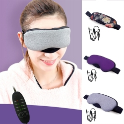 New Temperature Control Heat Steam Cotton Eye Mask Dry Tired Compress USB Hot Pads Eye Care Hot!