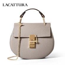 A1301 Summer chain Small Bags For Women Genuine Leather Messenger Bags  Ladies Handbags Italian Design Women b37568d2214f8