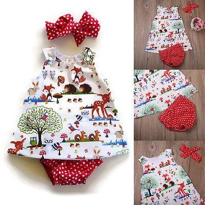 3PCS-Infant-Toddler-Kids-Baby-Girl-Clothes-Top-DressShort-PantsHeadband-Outfits-Set-1