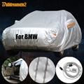Buildreamen2 completo cubierta del coche sol nieve lluvia cero protección contra el polvo de cubierta impermeable para BMW 1 3 5 7 M serie X1 X3 X4 X5 X6