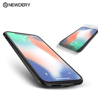 NEWDERY 4000mAh magnet Portable power charger battery case for iPhone X XS full cover protect case for iPhone 10 power bank