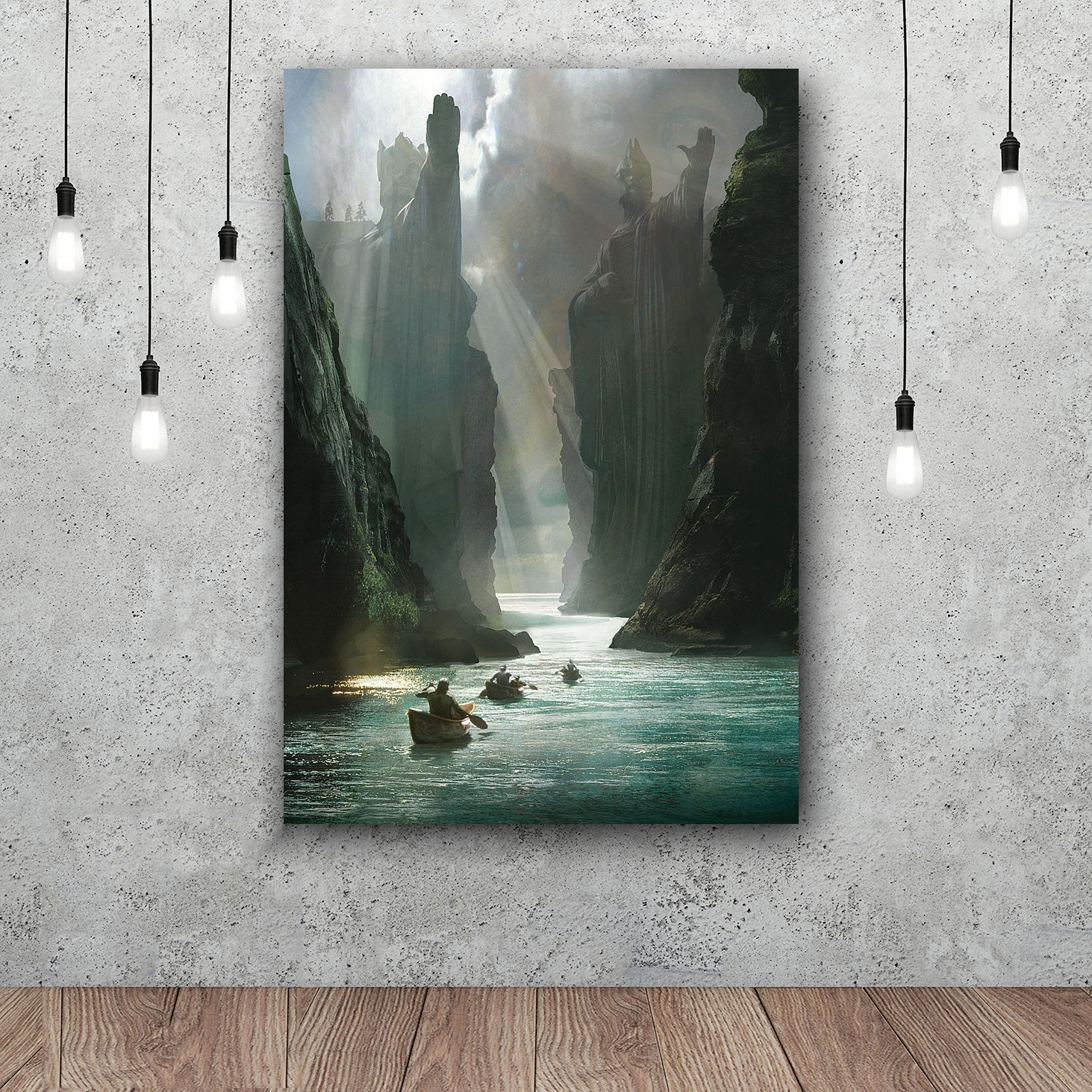 Lord Of The Rings Art Silk Poster Home Decor 12x18 24x36inch