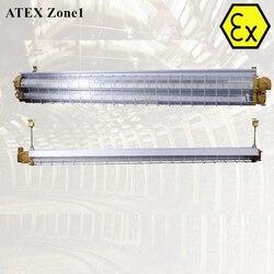 Professionelle design ATEX zertifiziert explosion beweis FÜHRTE schlauch leuchte 2ft 4ft zone 1 explosion proof lineare led-leuchten