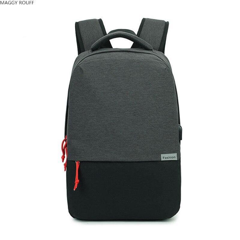 17 Polegada Laptop Saco Saco de USB Projeto Mochilas Escolares Mulheres Mochila Mochila Masculina ecocity mochila bp0033